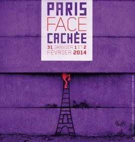 affiche Paris Face cachée