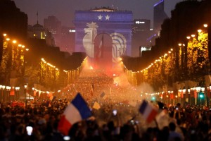 Champs elysees vitoire 2018