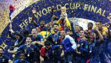 Vitoire equipe de France coupe du monde de football 2018