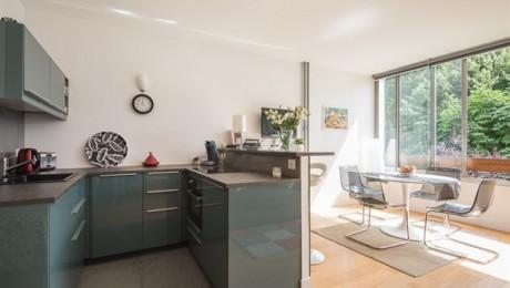 Appartement lumineux pour 2 pers à Auteil, Paris 16è