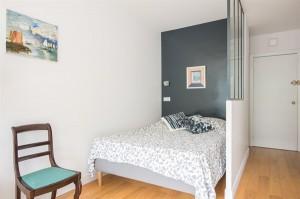 Confortable studio pour 2 à Auteuil dans le 16è arrondissement de Paris