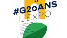 Affiche de l'expo Google au Grand Palais - #G20ans