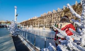 Patinoire du Jardin des Tuileries
