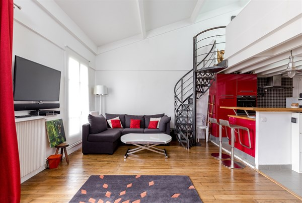 Duplex 13 - Furnished 2 bedroom duxplex for 6 people on rue de ...