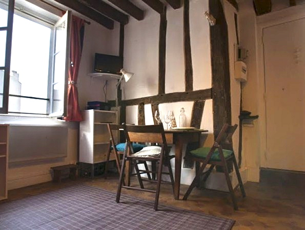 ... Beautiful Studio To Rent Long Term For 4 Guests In Latin Quarter Of  Paris V ...