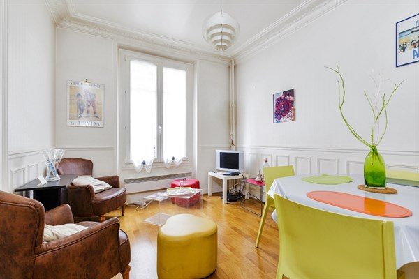 Turn Key Furnished Apartment With 3 Rooms Ideal For 4 At Gambetta Paris 20th 1 22 Short Term Room Rental