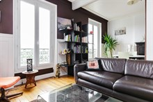 Short term monthly rental of beautiful, modern 2 room apartment at Montrouge on the outskirts of Paris at Porte d'Orleans