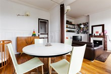 Luxry monthly rental for 4 at Montrouge close to Paris at Porte d'Orléans