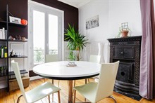Weekly rental for 2 to 4 guests in a comfortable 2 room apartment at Montrouge near Paris at Porte d'Orléans