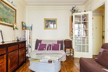 Weekly apartment rental, furnished with 2 rooms, perfect for two in Daumesnil area, on rue du Docteur Goujon, Paris 12th