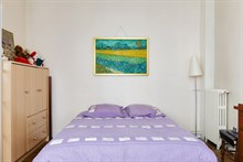 Large, furnished apartment for 2 available for weekly rental at At Reuilly Diderot near Bercy Village, Paris 12th