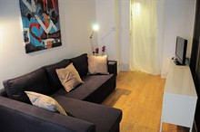 Furnished apartment Paris 2nd for the week for 2 or 4 guests