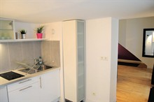 Seasonal rental apartment for 2-4 guests 400 sq ft Paris