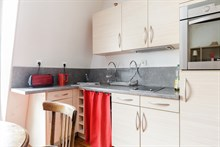 Fabulous weekly flat rental, furnished with 2-rooms in Reuilly Diderot quarter, near Saint Antoine hospital , Paris 12th