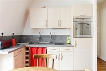 2 room furnished and well equipped apartment for 2 available for short-term rental at At Reuilly Diderot near Bercy Village, Paris 12th