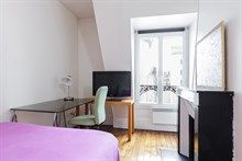 Weekly 2-room apartment rental for 2 in Reuilly Diderot quarter, near Saint Antoine hospital , Paris 12th
