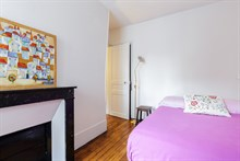 Entirely furnished and equipped apartment for 2 available for short-term rental in Reuilly Diderot quarter, near Saint Antoine hospital , Paris 12th