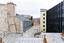 Furnished 2-room flat, equipped for 2, weekly rental in Reuilly Diderot quarter, near Saint Antoine hospital , Paris 12th