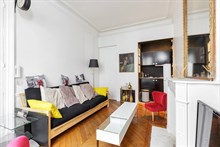 For Rent: Modern 2 room apartment, ideal for 2, at Solférino, Paris 7th