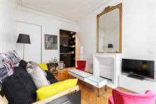 Beautiful 2 room apartment for short term rental near d'Orsay museum, Paris 7th