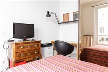 Business trip accommodation:short term rental of apartment for 1 or 2 guests near Invalides, Paris 7th