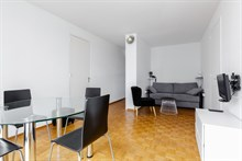 Splendid 2 room apartment near Montparnasse Tower, sleeps up to 4, rue du Commandante Mouchotte Paris 14th
