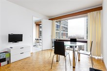 Weekly apartment rental, furnished with 2 rooms, perfect two to four rue du Commandante Mouchotte at Gaîté, Paris 14th