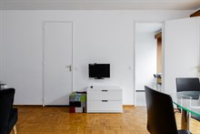 Weekly flat rental two to four, furnished, rue du Commandante Mouchotte at Gaîté, Paris 14th