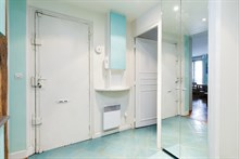 spacious apartment rental for 5 guests 2 BR on boulevard du Montparnasse Paris 14th district
