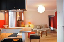 modern weekend rental apartment sleeps 4 fully furnished on avenue des ternes paris 17th