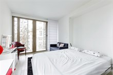 2 person accommodation in Paris 15th arrondisement for short term rental