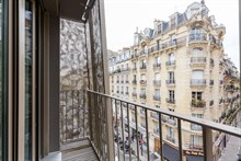 Spacious studio apartment for short term rental, recently remodeled, w balcony at Convention Paris 15th