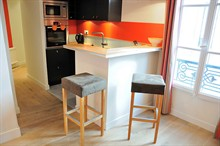 contemporary apartment to rent for 4 guests 485 sq ft paris champs elysees xvii