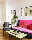 Fabulous weekly flat rental w balcony, furnished with 2-rooms at Bastille, Paris 11th