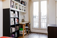 Furnished 2-room apartment for four at Bastille, Paris 11th