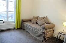 rent a furnished apartment for 4 guests in place de l'etoile paris 17th district