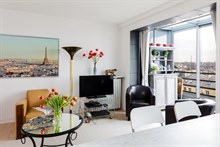 Furnished apartment for two to four available for monthly rent in Gobelins In Historic Latin Quarter, Paris 13th