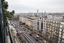 Long Term rental of a spacious, furnished and fully equipped 2-room flat in Gobelins in Historic Latin Quarter, Paris 13th