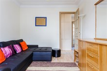 Holiday rental short term friends or family sleeps 2 or 4 in Balard quarter Paris 15th