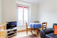 1 bedroom short term apartment for rent near Porte de Versaille Paris 15th