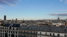 Short-term rental of a furnished 2-room apartment for 2 by In Historic Latin Quarter, Paris 13th