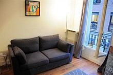 elegant 2 bedroom apartment to rent for 4 guests on Place de Mexico in 16th district of Paris