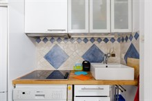 4-person weekly vacation accommodation in 2-bedroom apartment at Plaisance Paris 14th