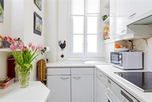 Short term rental in 3 room apartment on rue Marcadet, Paris 18th