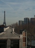 furnished and equipped studio to rent 430 sq ft in paris 16th eiffel tower view