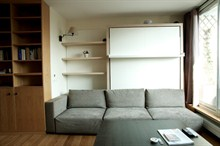 Short-term rental of a furnished apartment in Paris 14th district