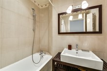 Modern 2 bedroom apartment sleeps 4 at Montmartre, Abbesses, Paris 18th, weekly or monthly rental
