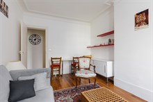 Art lover's dream apartment near Ary Scheffer in Paris 9th with double bedroom sleeps 2