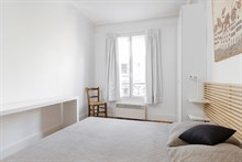 Holiday flat rental for 2 at Saint-Georges metro lines 2 and 12 Paris 9th