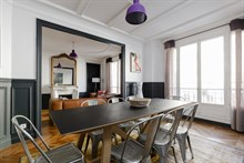 2 person apartment for short term rental in Paris 12th arrondissement with access to public transportation